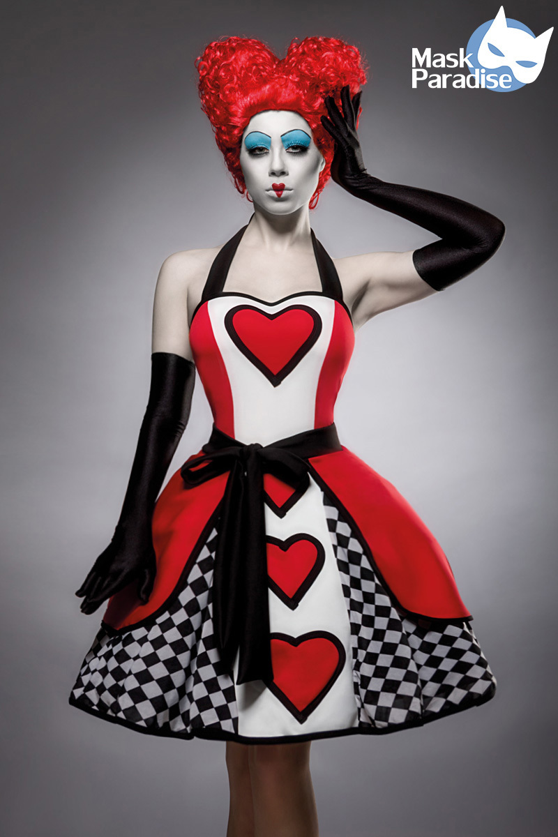 Costume Reine de Coeur - Mask Paradise