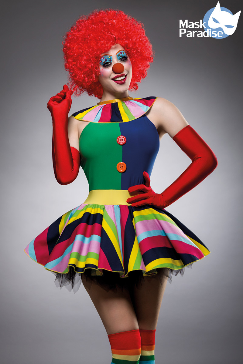 Costume de clown - Mask Paradise
