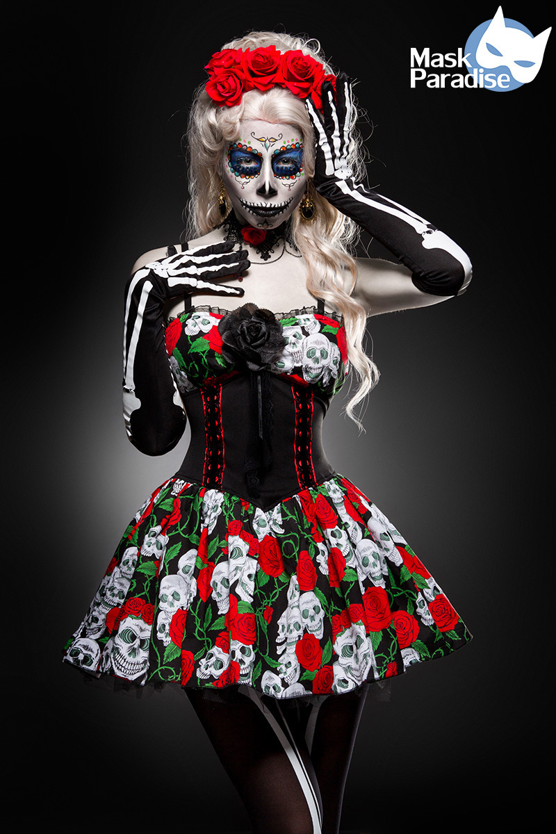 Costume Jour de la mort - Mask Paradise