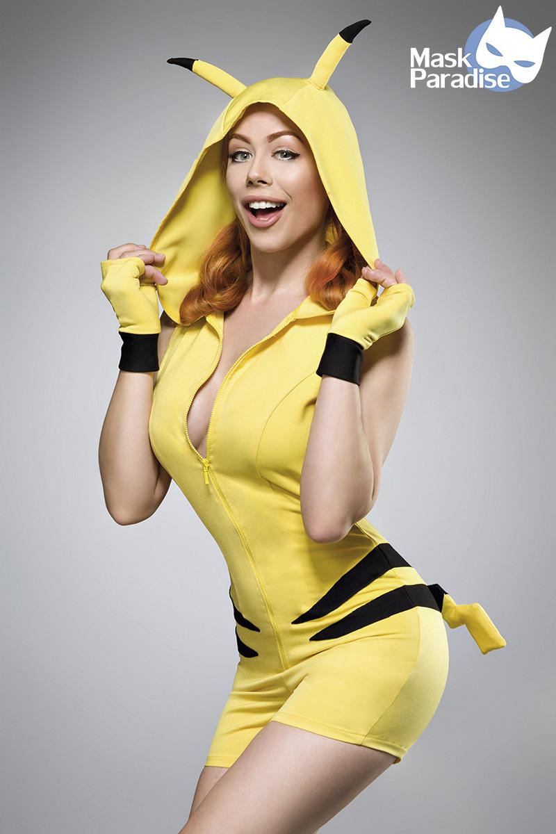 Costume / Déguisement de Pikachu de Pokemon - Mask Paradise