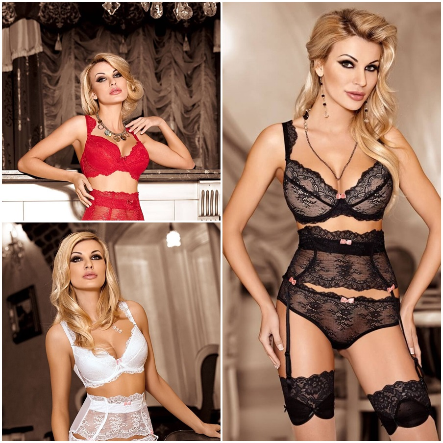 Ensemble lingerie push-up AMBRE - Roza