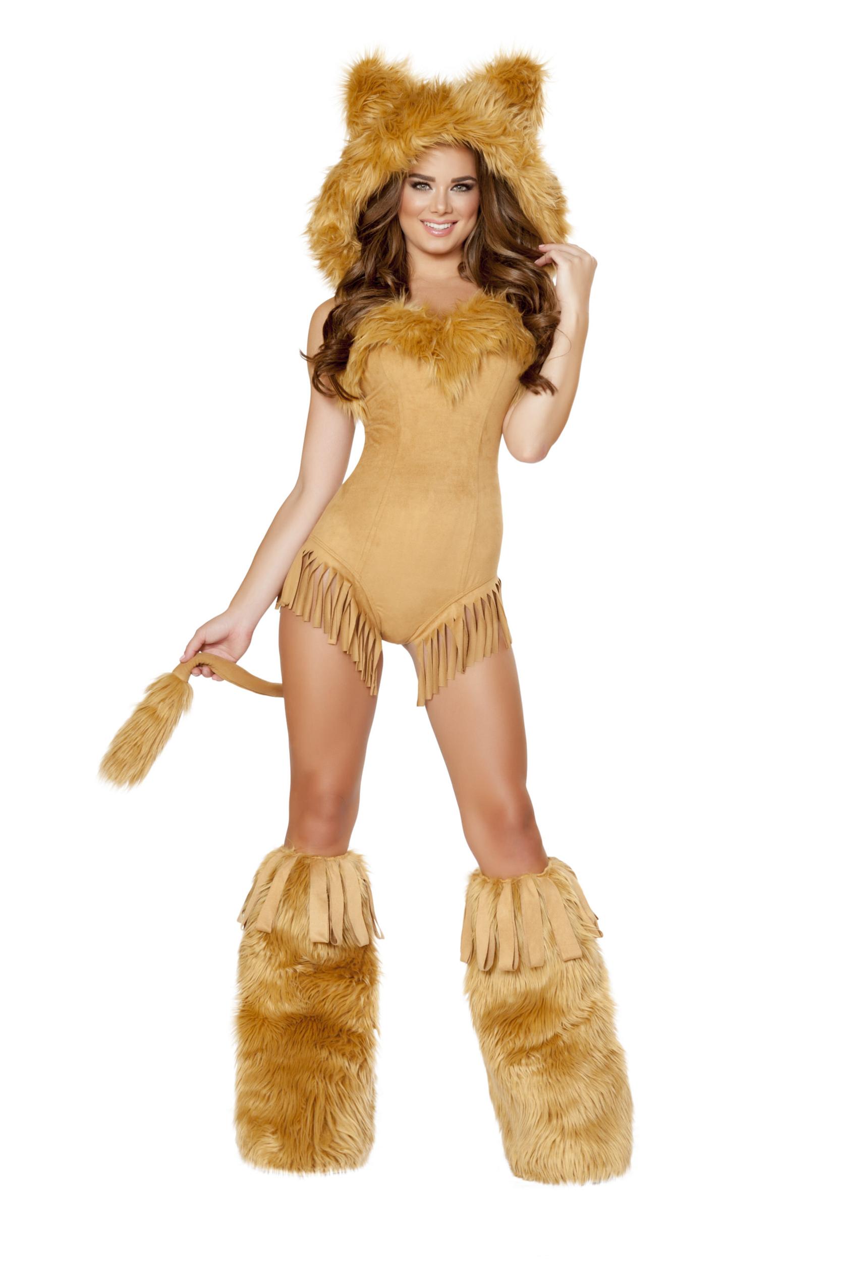 Costume - Déguisement de lionne  - ROMA