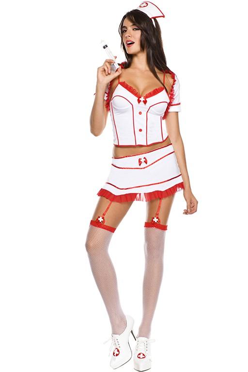 Costume d\'infirmière 5 pièces Sexy Nurse Surprise