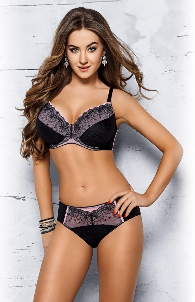 Ensemble lingerie Full-cup Noir VB283 - VENA