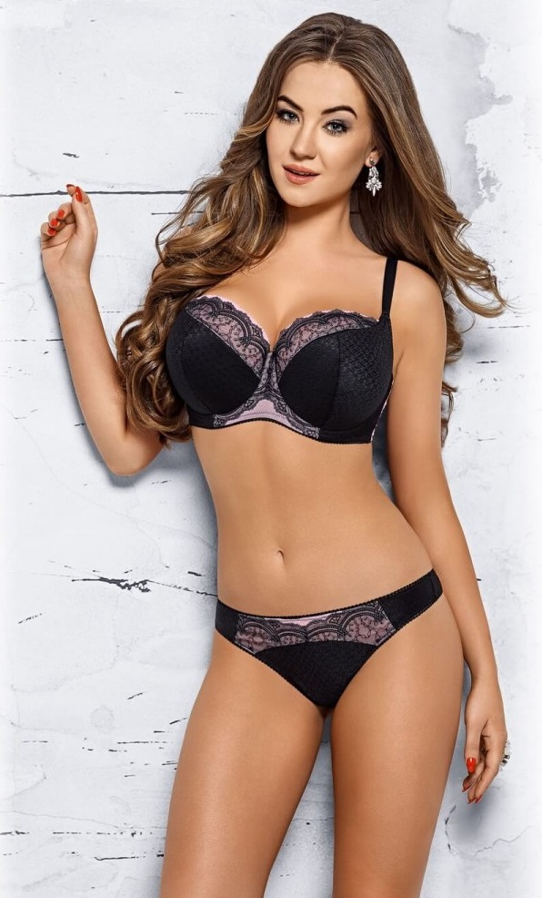 Ensemble lingerie Semi-soft Noir VB293 - VENA