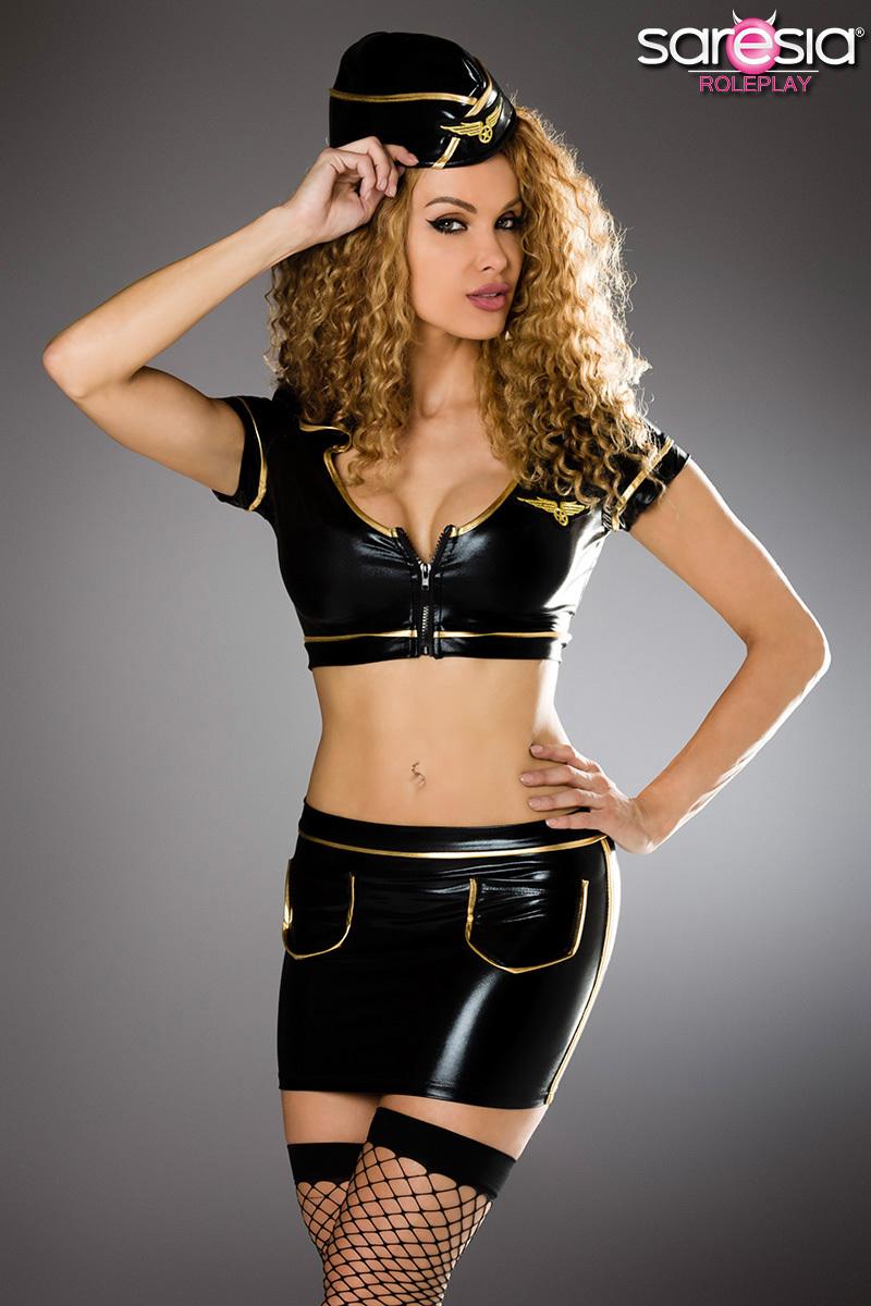 Costume d\'Hôtesse de l\'air