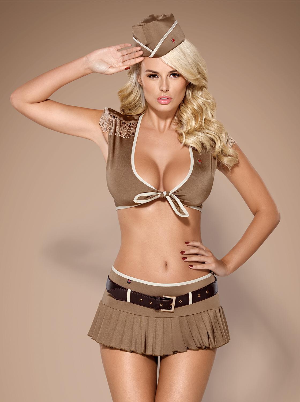 Costume de militaire sexy - Obsessive