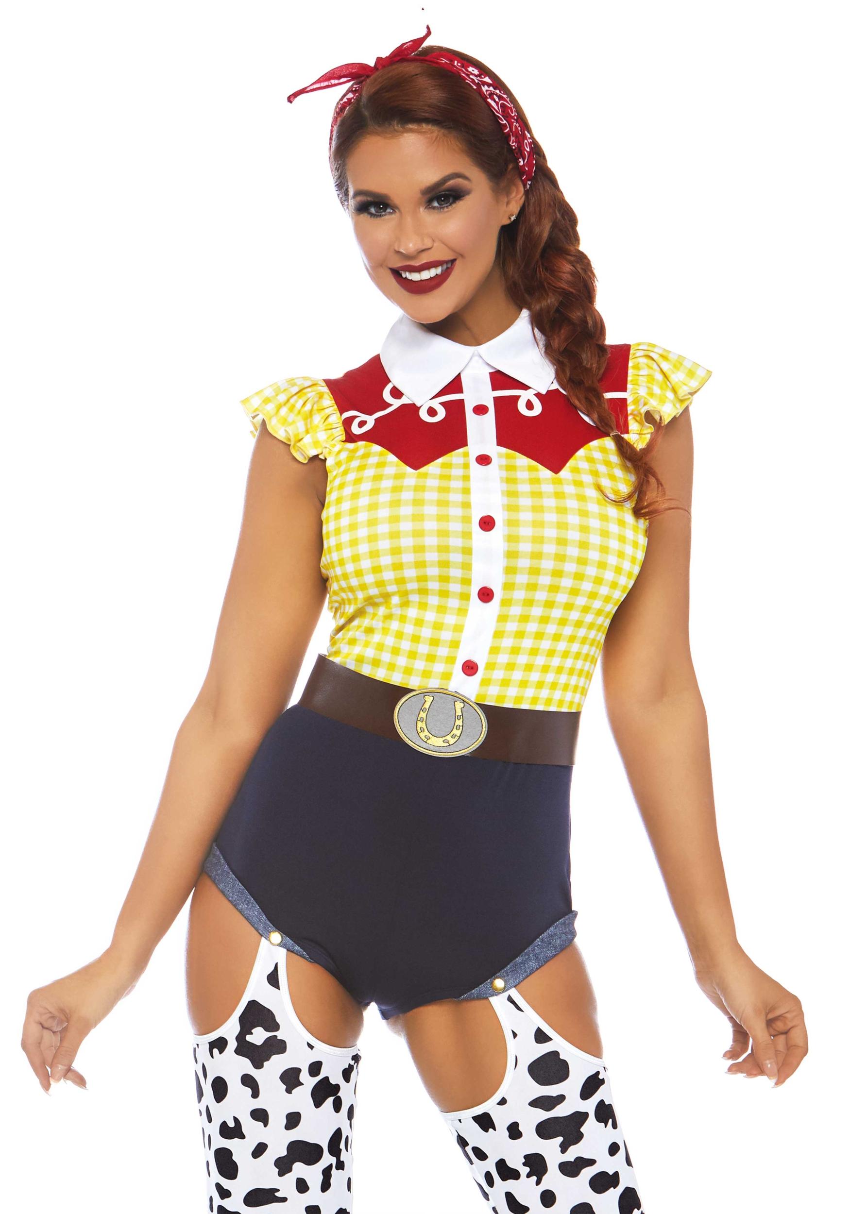 Giddy Up Cowgirl Leg Avenue