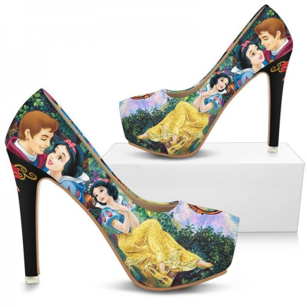 Chaussures à talon Blanche Neige Disney