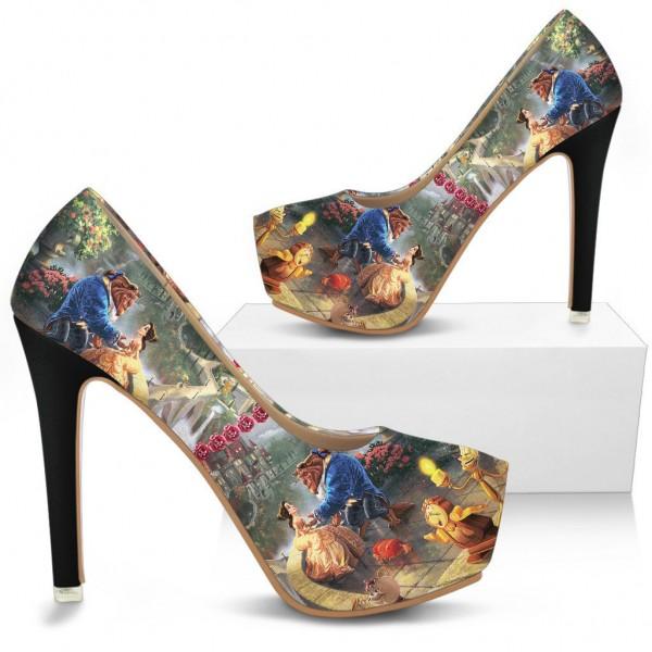 Chaussures à talon Belle et la Bête Disney