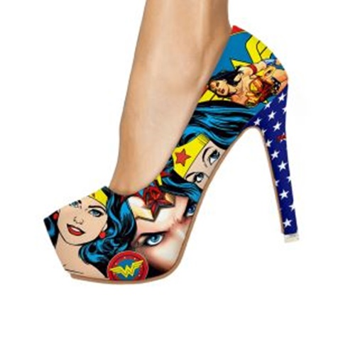 Chaussures à talon Wonder Woman