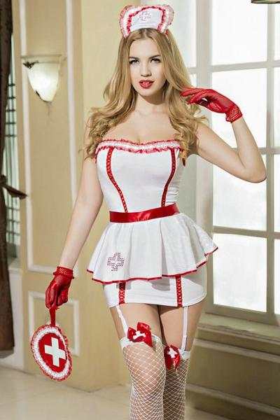 Déguisement sexy infirmière - Paris Hollywood