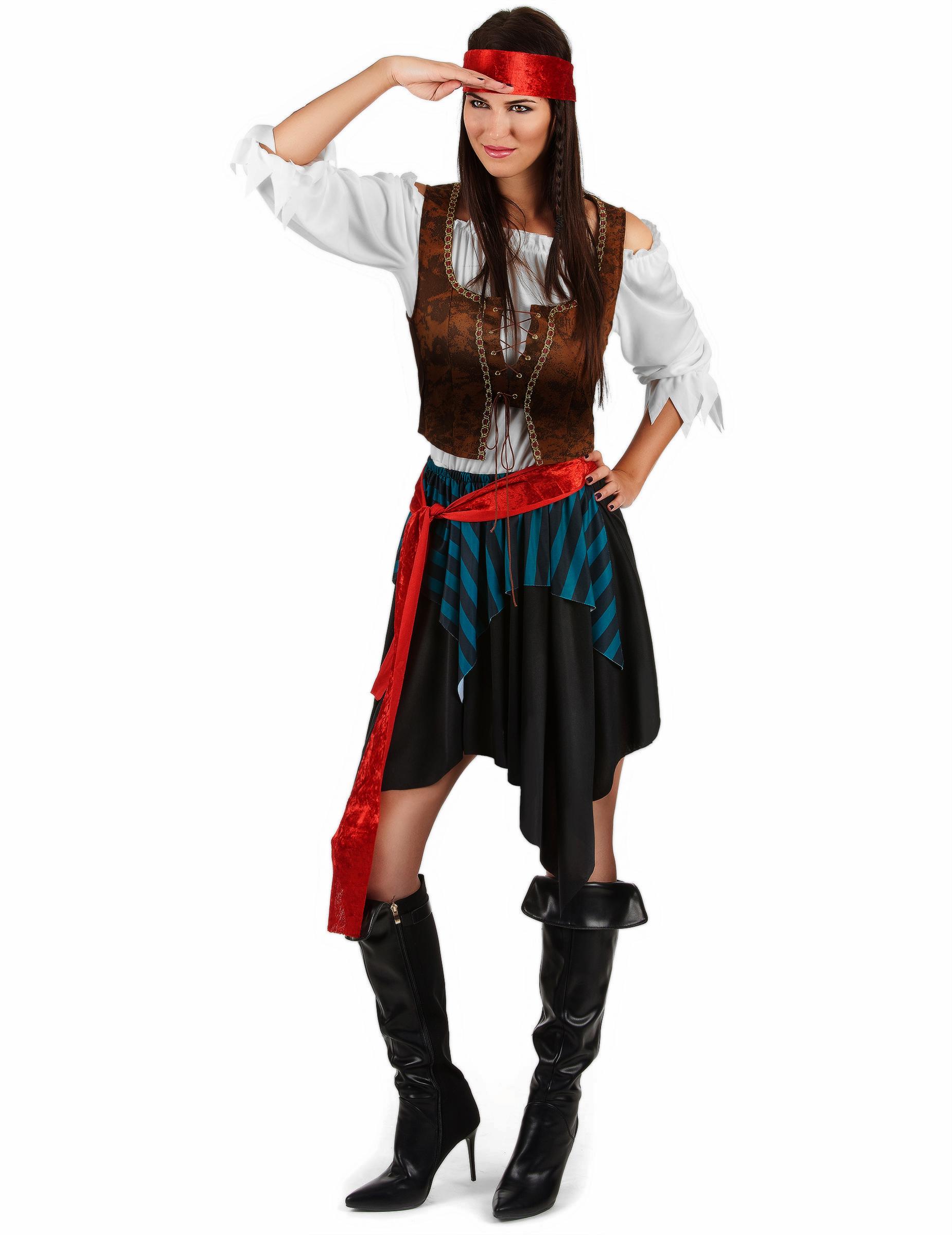 Halloween Pirate Femme Déguisement Fantôme Déguisementshalloween cgqYz45z