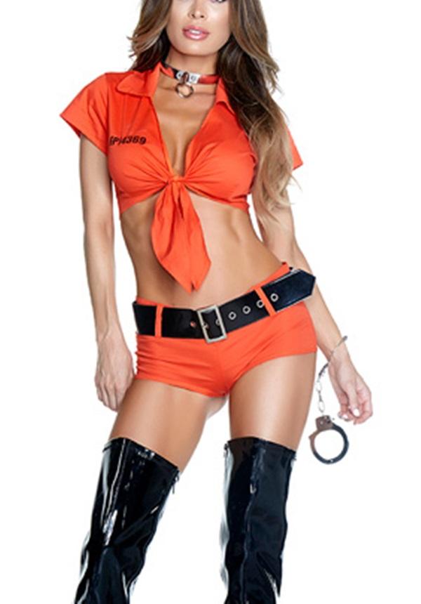 Déguisement sexy prisonnière
