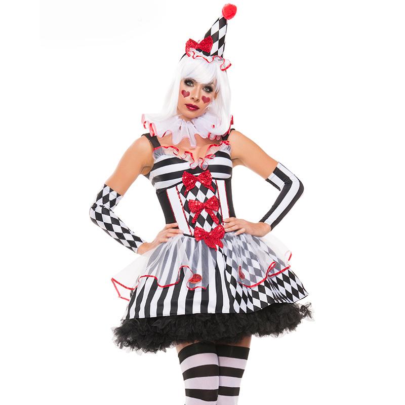 Déguisement sexy Clown