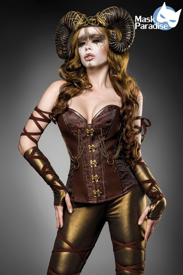 Costume Woodland Faun  - Mask Paradise
