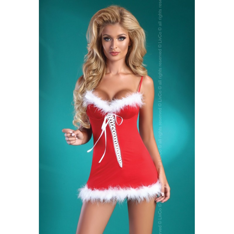 NUISETTE DE NOËL SEXY ET STRING \'CHRISTMAS HONEY\' - LIVCO