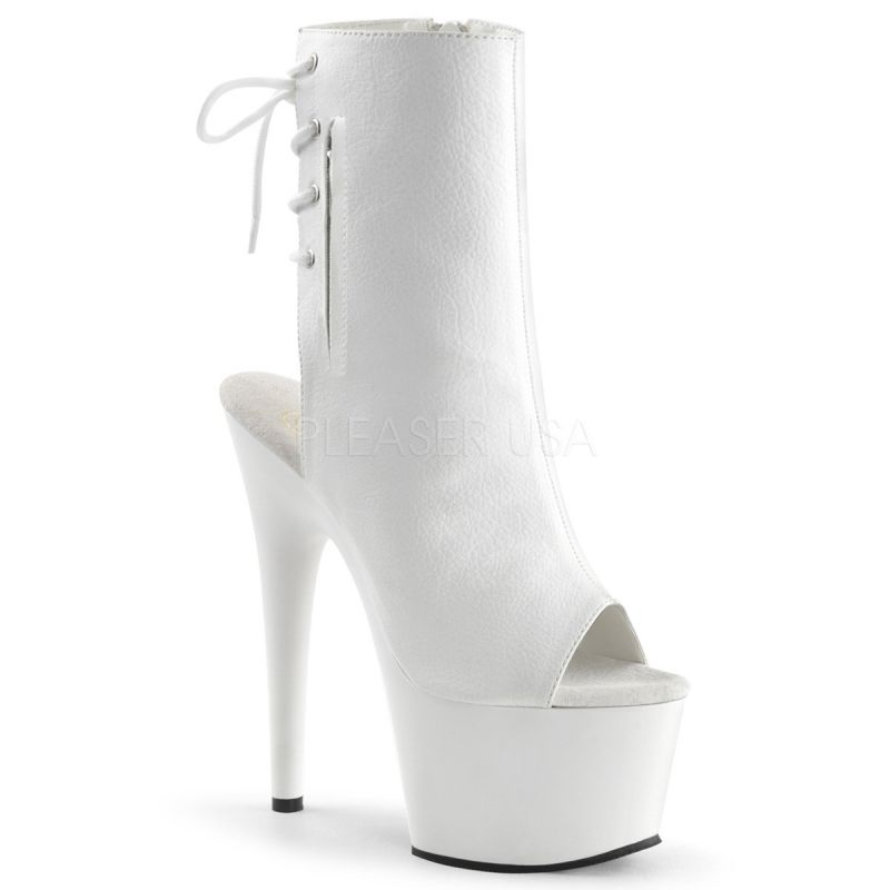 Bottines ADORE-1018 - Blanc - Pleaser
