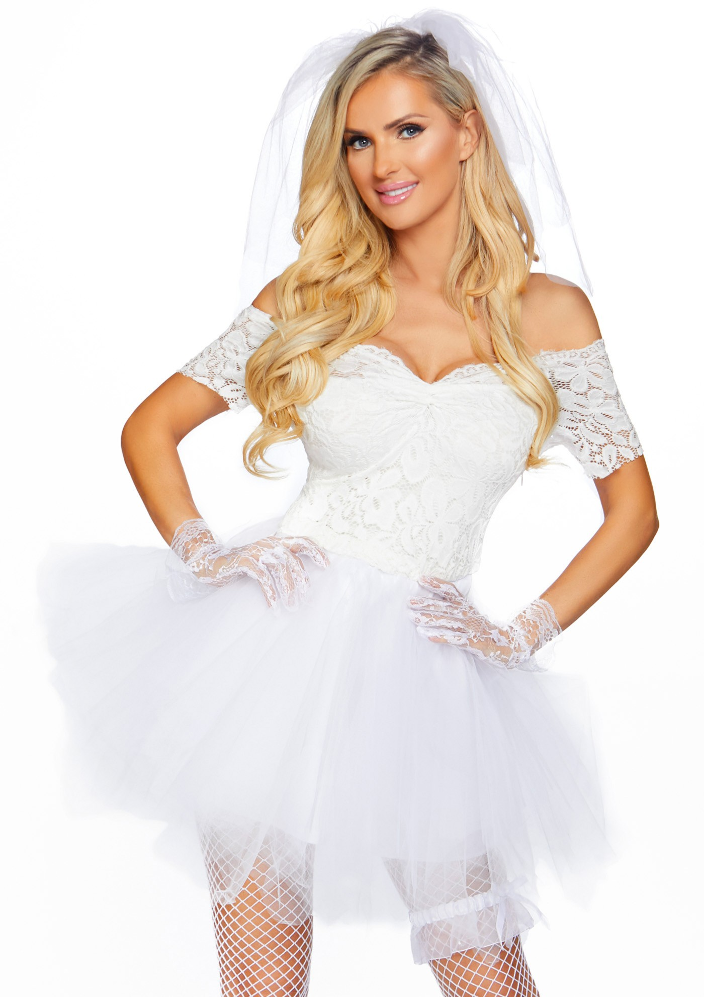 Costume Blushing Bride - Leg Avenue