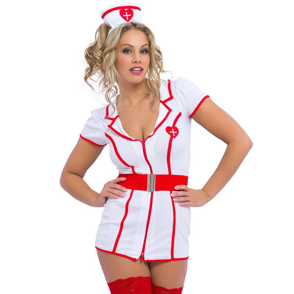 Costume d\'infirmière polissonne