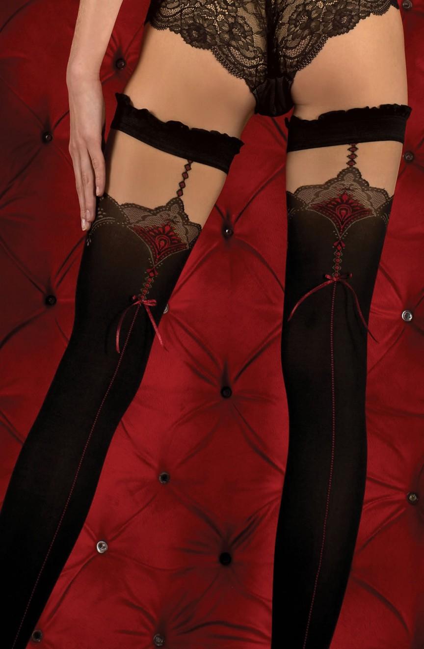 Bas noirs autofixants 346 - Ballerina