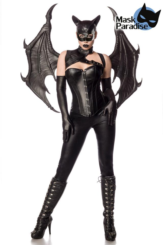 Costume Bat Girl Fighter  - Mask Paradise