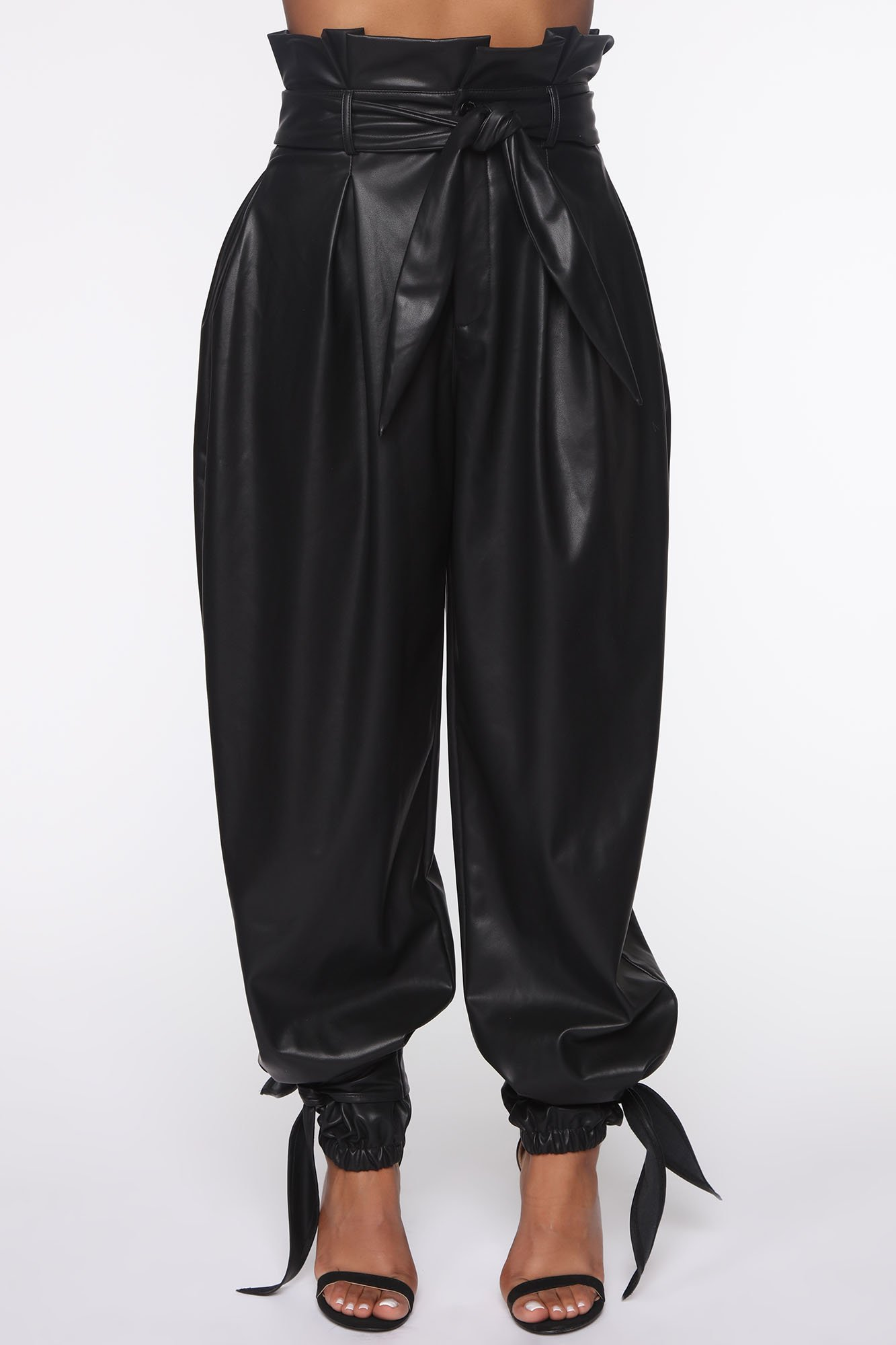 Pantalon en Faux Cuir Got Your Love - Noir