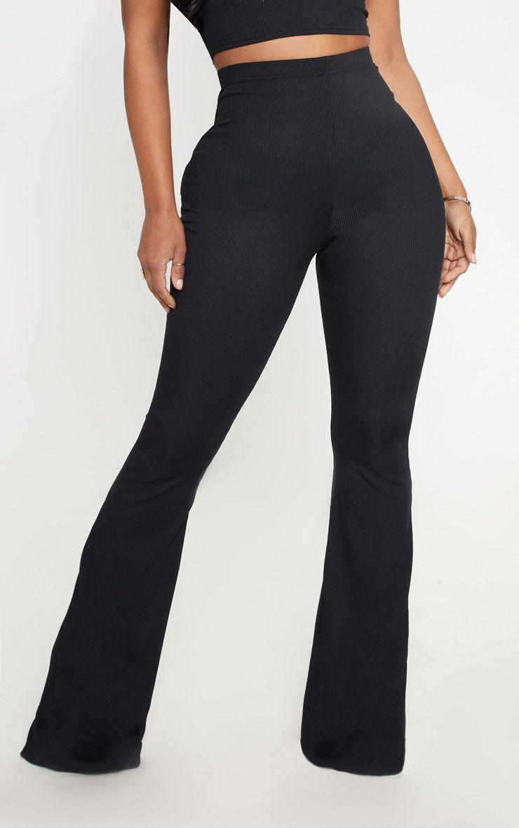 Pantalon côtelé - Noir