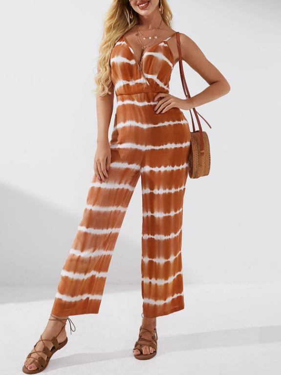 Combinaison tie-dye - Orange