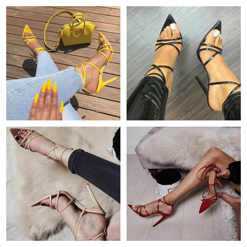 Chaussures à lanières - Bout pointu
