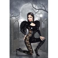 Costume d'ange noir