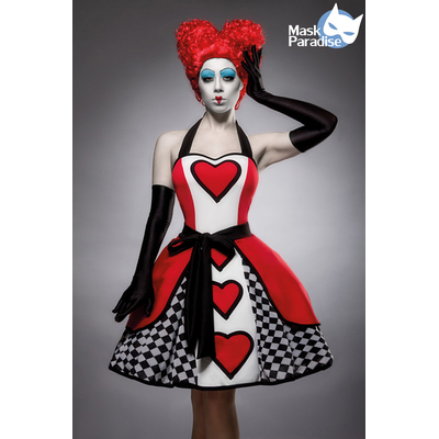 "Costume ""Reine de Coeur"" - Mask Paradise"