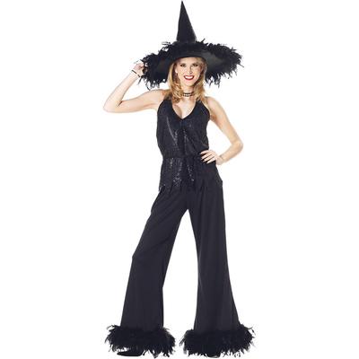 Déguisement sorcière glamour Halloween