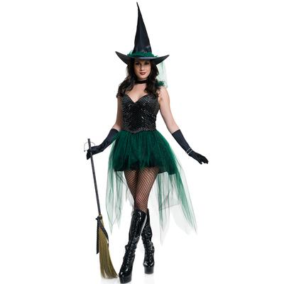 Déguisement sorcière Emeraude Halloween
