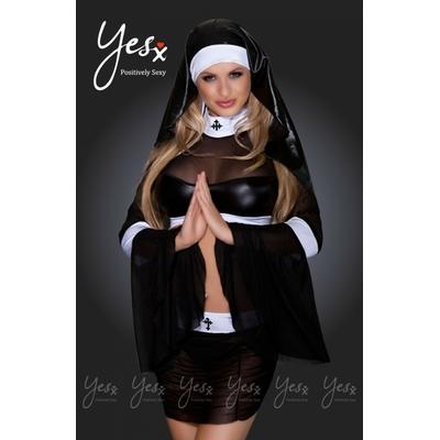 Déguisement de religieuse sexy YesX