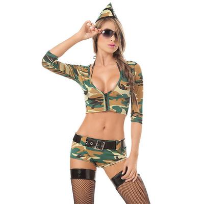 Déguisement de militaire sexy