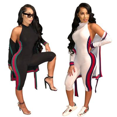 Combinaison et veste manches longues coordonnées