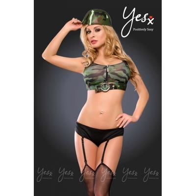 Déguisement de militaire sexy - YesX
