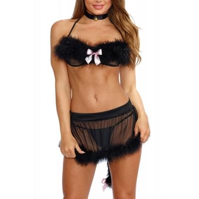 Déguisement femme de chambre chatte - Dreamgirl