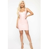 Mystery Making Latex Mini Dress - Rose 2