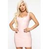 Mystery Making Latex Mini Dress - Rose