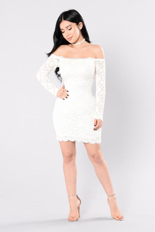 Robe de coktail blanche