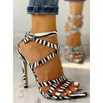 Sandales sexy à talon