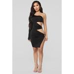 Oh My My Cut Out Mini Dress - Black 2