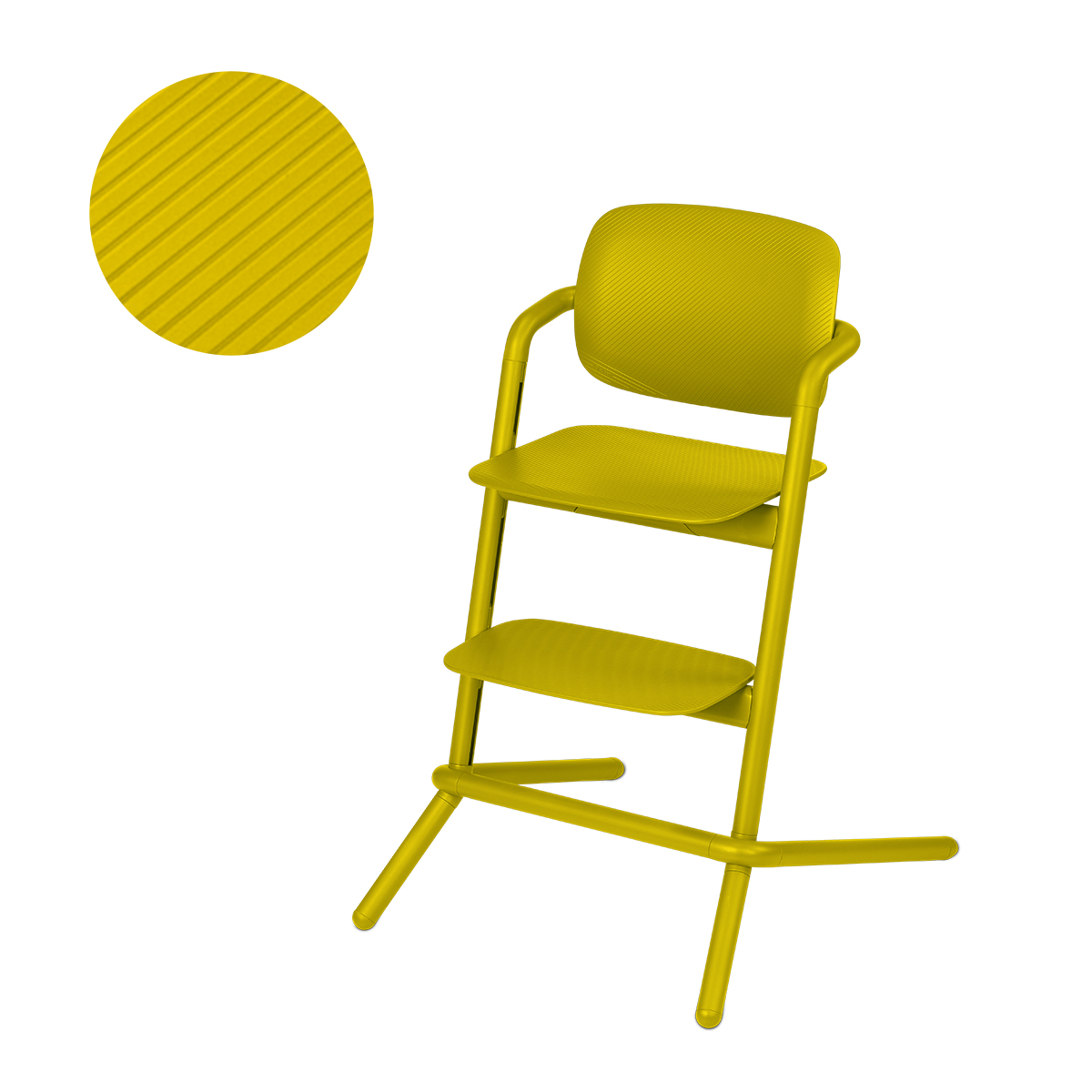 Chaise haute Cybex Lemo - Canary Yellow