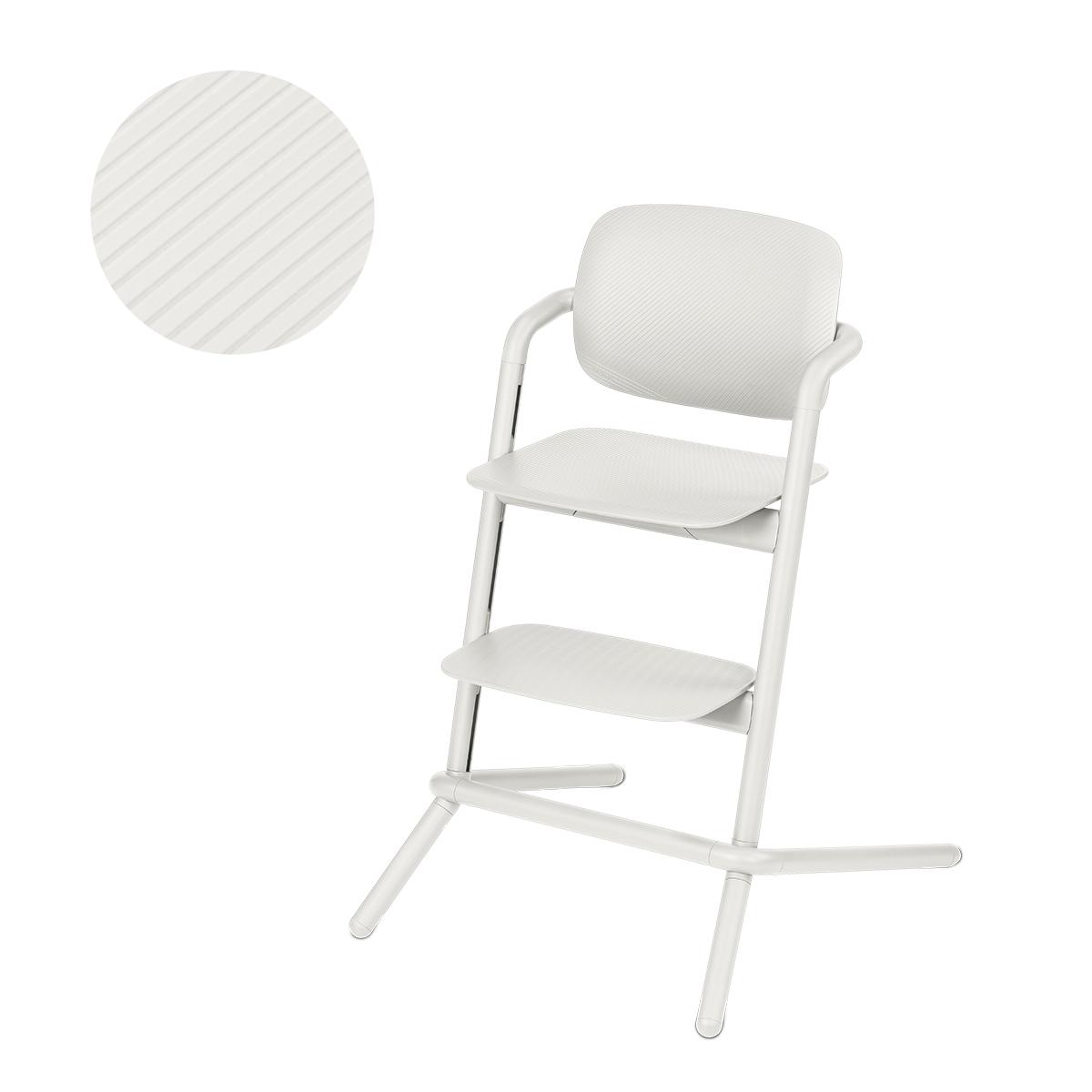 Chaise haute Cybex Lemo - Porcelaine White