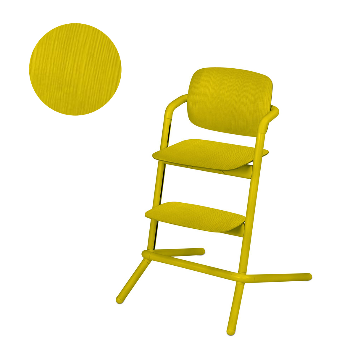 lemo_cybex_yellow_chaise_haute_bois_1