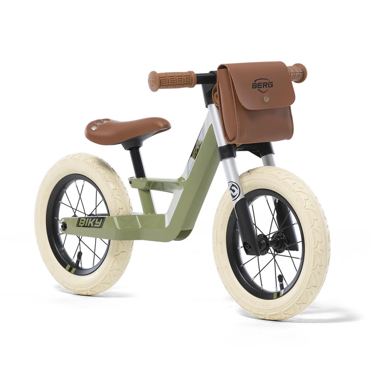 Draisienne Berg Biky Retro Vert - De 2,5 à 5 ans