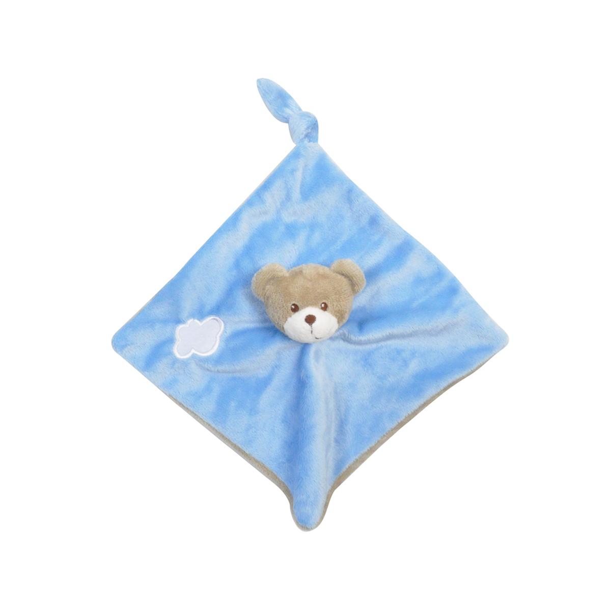 Doudou plat pour bébé King Bear Ours - Bleu - Accessoires Doudou -  tendresse de bébé 8b22d12cdaa