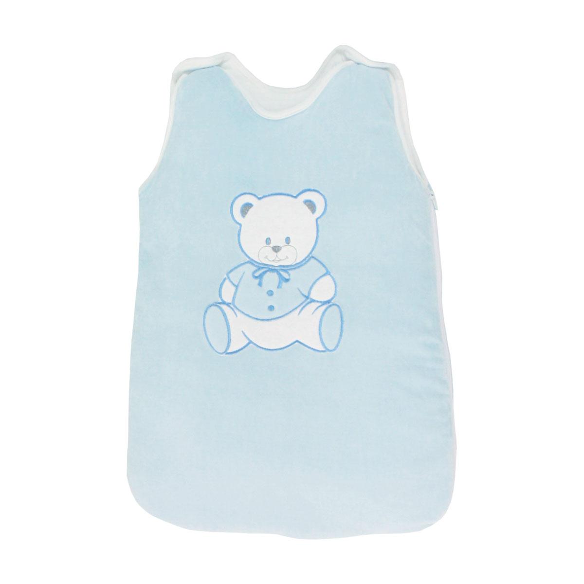 Gigoteuse pour bébé 0 à 6 Mois bleu - Motif Nounours
